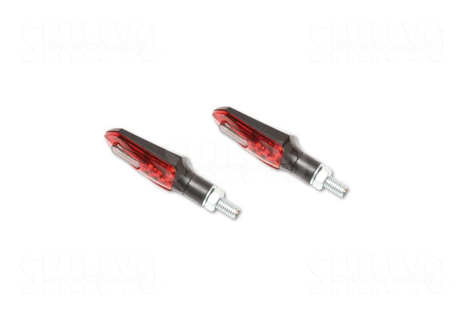 shin yo led taillight  indicator arrowhead  red  smoke lens
