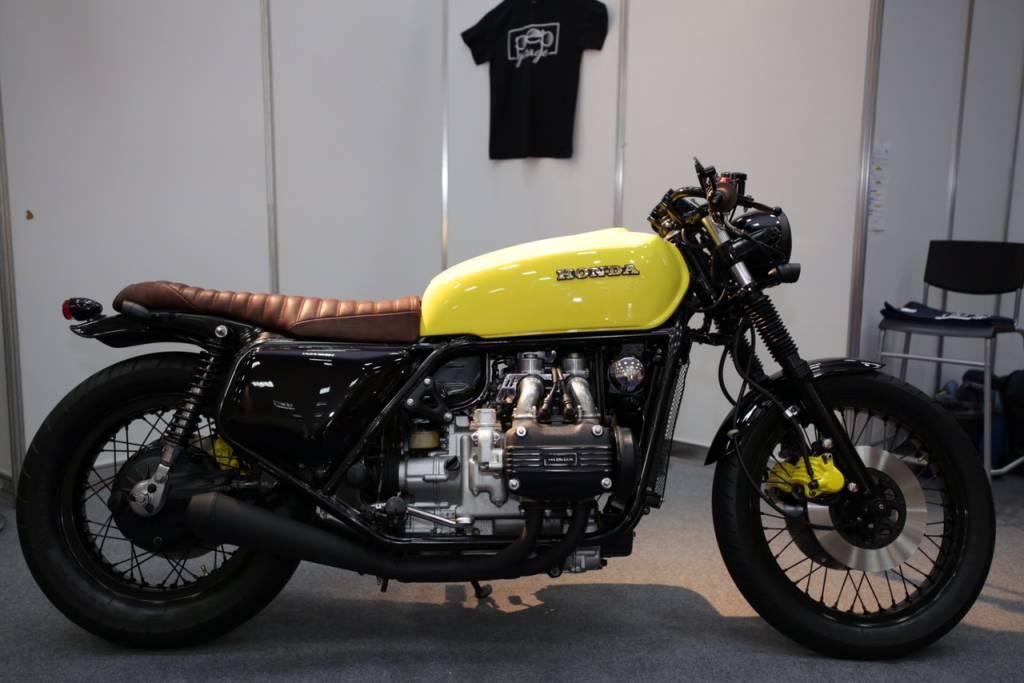 Honda Goldwing Gl1000 K1 1976 Power Cafe Racer The