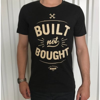 Cafe Racers United Built not Bought T-Shirt