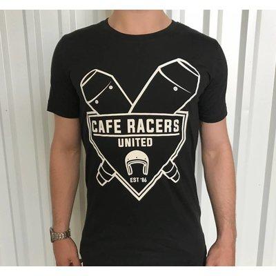 MCU T-shirt pot d'échappement Cafe Racer United