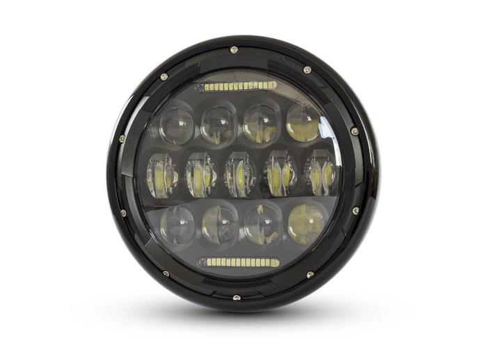 "7"" Multi Projector LED Scheinwerfer Black"