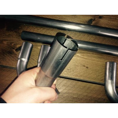 51MM DIY Auspuff Rohr Stahl (Select Angle)