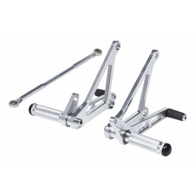 Universal Alloy Rearset Chrome Type 2