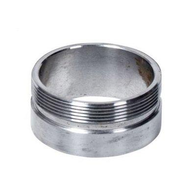 """MCU Steel 2.5"""" Weld-On Thread Collar / Fuel Neck Flange Monza Cap"""