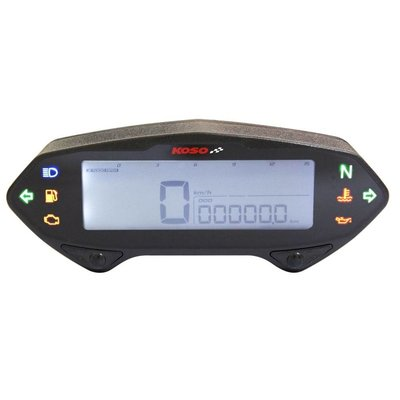 KOSO Indicateur de vitesse / compte-tours DB-01RN, avec ABE