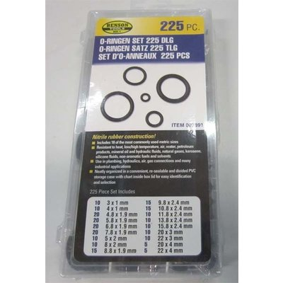 O-Ring Set 225 Piece Box B/C