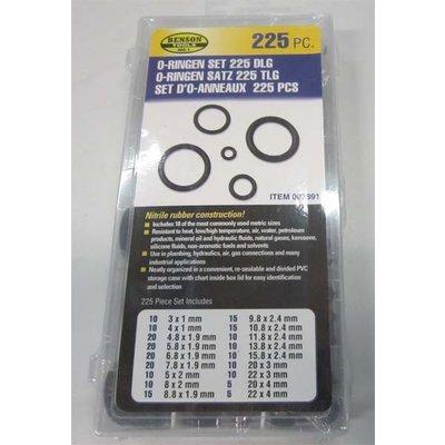 Set de joints toriques - 225 pièces - Boîte B/C