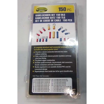 Cable Lug Set 150 Piece