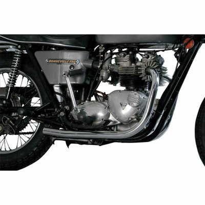MAC Exhausts Triumph  73-79 Chr Headpipes Replacement