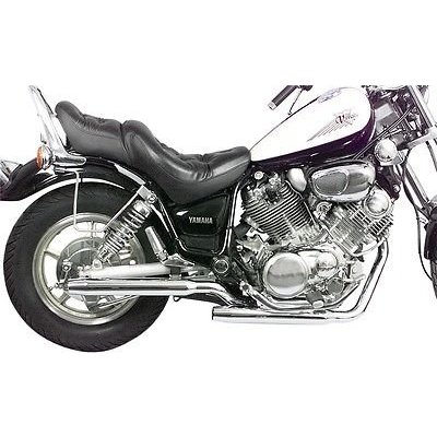 MAC Exhausts Yamaha Virago 500 Exhaust Staggered Slash Cut