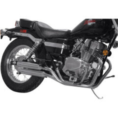 MAC Exhausts Honda VT 700/800 auspuffanlage Staggered Slash Cut
