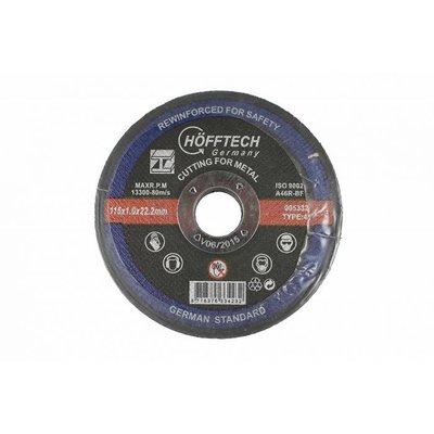 Disque de coupe en métal 115mm
