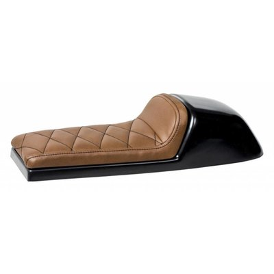 C.Racer Cafe Racer Seat Diamond Stitch Chocolat Brown Type 39
