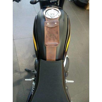 Motard Germany Sangle de réservoir avec pochette pour Ducati Scrambler
