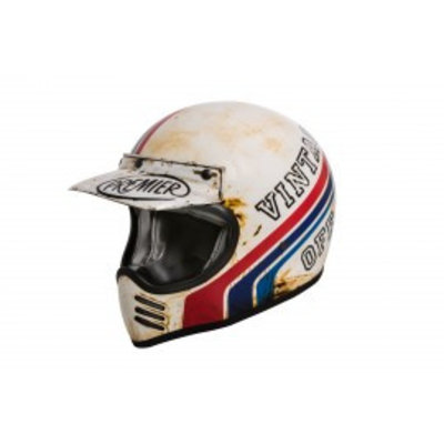 Premier Trophy MX Helmet BTR 8 BM