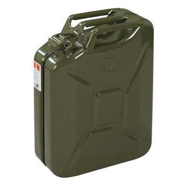 Jerrycan 20 litres - vert militaire