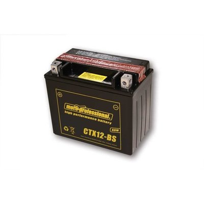 CTX 12-BS Battery Maintenence Free