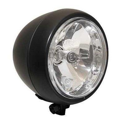 "5.5"" Oldskool Caferacer Headlight Black"