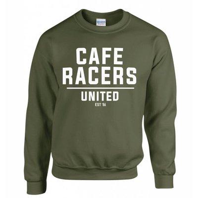 MCU Sweatshirt Cafe Racers United - Militaire