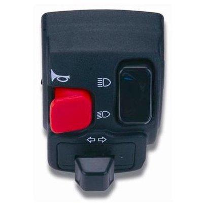 Domino Multi Functional Handlebar Switch Left