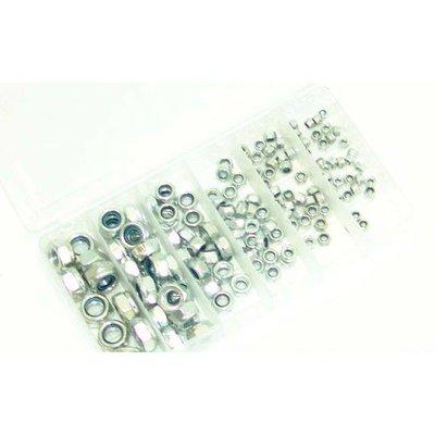 Lock Nut Set DIN 985 - 150 Pieces