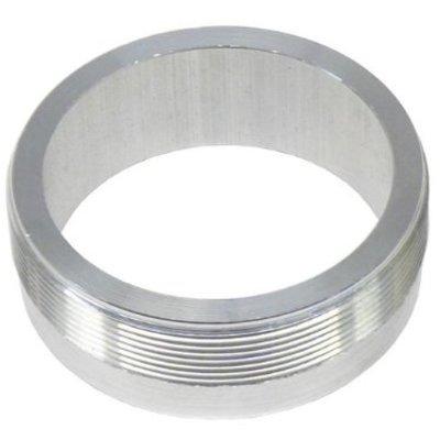 """MCU Aluminium 2"""" Flange with threading (for Monza caps)"""