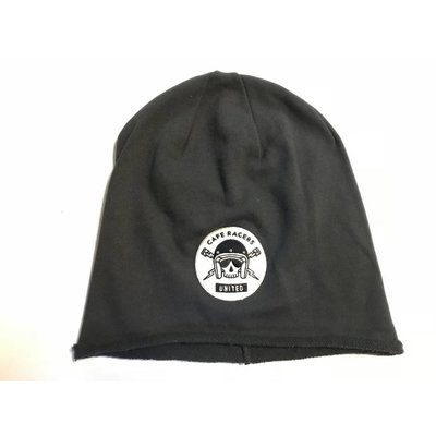 Motorcycles United Skull Beanie Charcoal