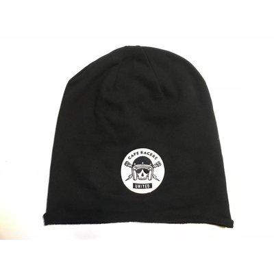 MCU Skull Beanie - Schwarz