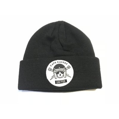 MCU Skull Docker Mütze - Schwarz