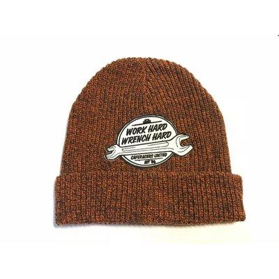 MCU Work Hard Docker Hat - Naranja