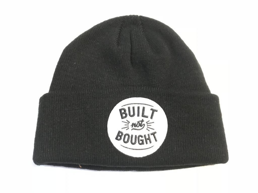 Built not Bought Docker Hat Black - CafeRacerWebshop.com c5bac157fcf
