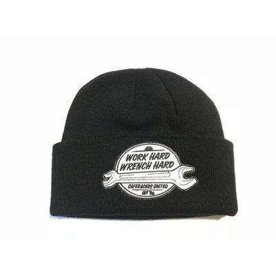 Motorcycles United Work Hard Docker Hat Black