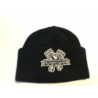 Motorcycles United Choppershop Docker Hat Black