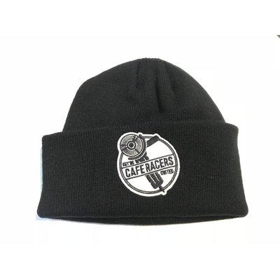 Motorcycles United Grinder Docker Hat - Black