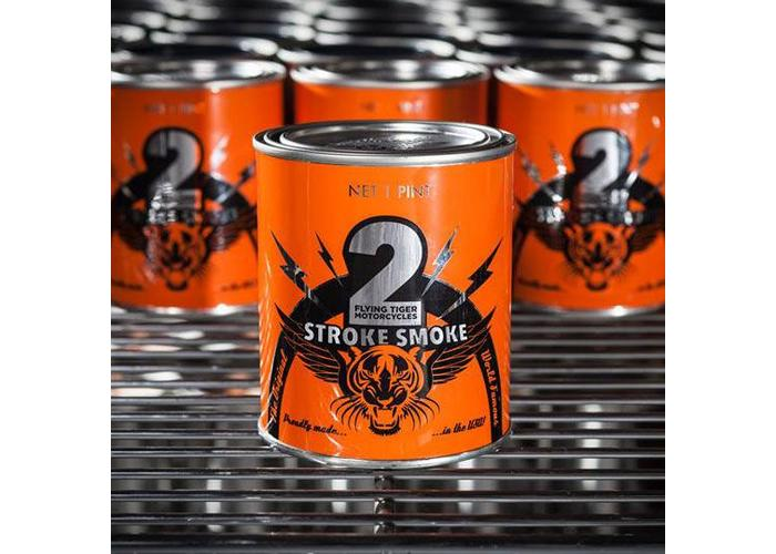 Flying Tiger Motorcycles 2 Stroke Candle