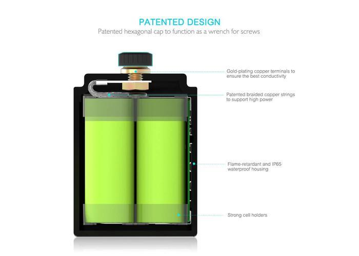 Raw Moto 260CCA SMART Bluetooth Lithium Battery #2