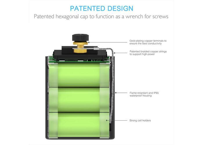 Raw Moto 390CCA SMART Bluetooth Lithium Battery #3