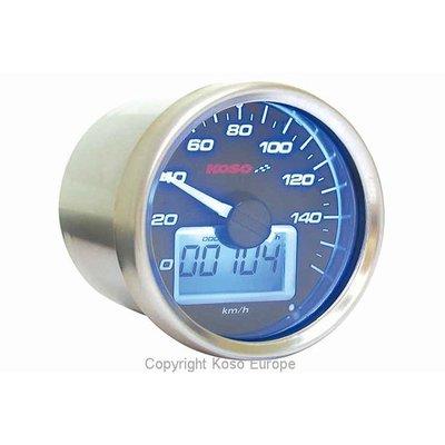 KOSO (max 160 kmh) D55 GP Style Speedometer Black