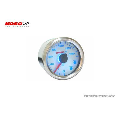 KOSO (max. 150å¡C) GP Style D48 Thermometer- Wit