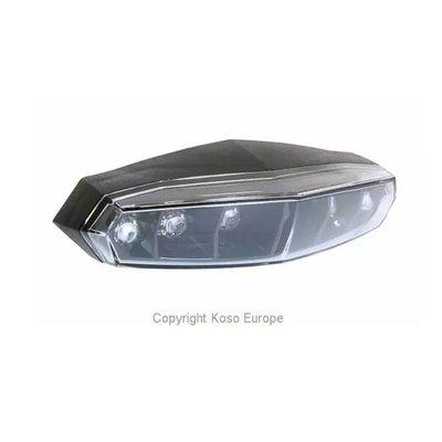 KOSO LED Rücklicht Mini (Rauchglas)