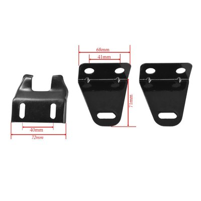 Mounting bracket set Universal