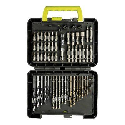Ryobi Set of drills & screw bits (60-piece) RAK60DDF