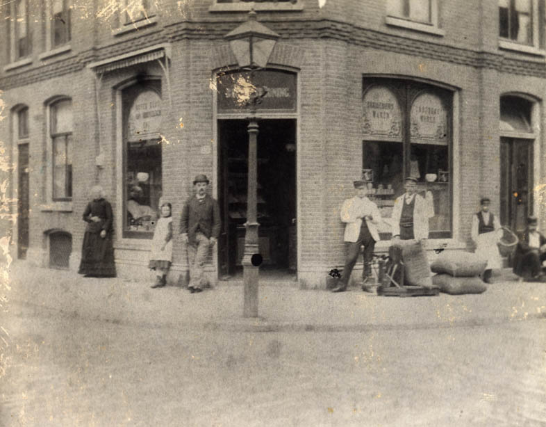De winkel aan de Boerhaavestraat 9