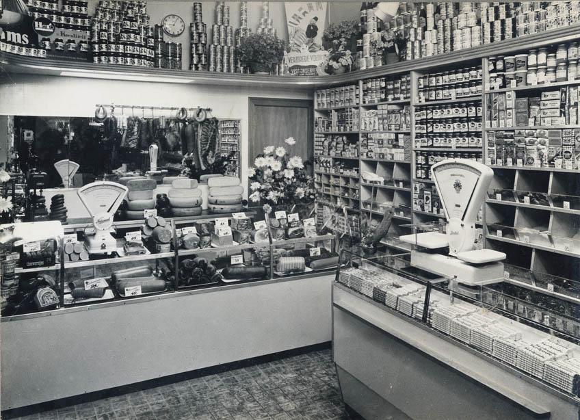 Winkel na verbouwing 1953