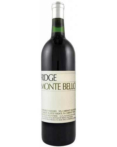 Ridge Vineyards Monte Bello 2009