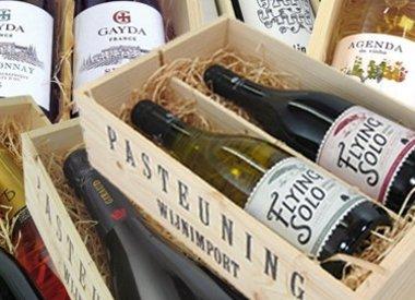 Kistjes wijn