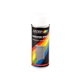 Motip Radiator Spray Hittebestendig Wit 400ml