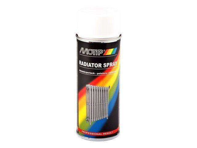 Motip Radiator Spray Heat Resistant 400ml White