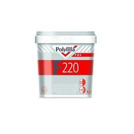 Polyfilla Pro F220 Gebrauchsfertiger Halb-Leicht-Füllspachtel