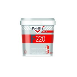 Polyfilla Pro F220 Ready half-light putty